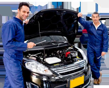mechanics-with-open-bonnet